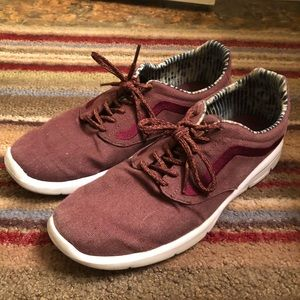 Other - Maroon Vans Shoes